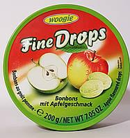 Льодяник Woogie Fine Drops (Bonbons mit Apfelgeschmack)
