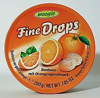 Льодяник Woogie Fine Drops (Bonbons mit Orangengeschmack)