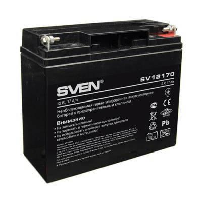 Батарея к ИБП SVEN 12В 17Ач (SV12170), фото 2