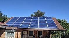 Сетевая солнечная станция 10 кВт, г. Кривой Рог