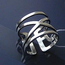 Серебряное фаланговое кольцо, 3,7 грамма, фото 2