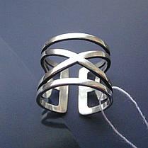Серебряное фаланговое кольцо, 3,7 грамма, фото 3