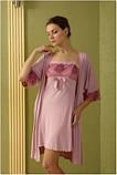 Сорочка Shato - 414 (женская одежда для сна, дома и отдыха, домашняя одежда, ночная рубашка), фото 2