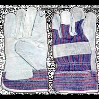 Перчатки замшевые, простые