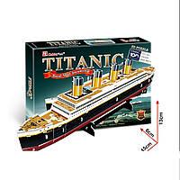 Трехмерная головоломка Титаник CubicFun T4012h ТМ: CubicFun, Киев