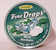 Льодяник Woogie Fine Drops (Mint Bonbons)