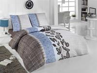 Трикотажное постельное бельё с простыней на резинке ACELYA Lace