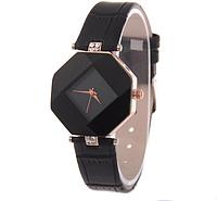 Часы женские наручные черные Jewel gem cut