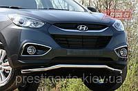 Дуга по бамперу на Hyundai IX35 (2010-...)