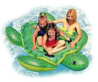 """Детский надувной плотик - игрушка """"Черепаха"""" для плавания INTEX 56524 180-157 см IKD /59-01"""