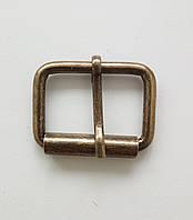 Пряжка литая 30 мм, антик