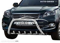 Кенгурятник для Toyota Rav4 2010-2012 (AISI304, облегчённый)