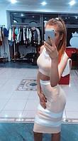 Костюм топ и юбка