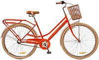 """Велосипед Дорожник Comfort Female 14G St (2017) 28"""" рама-19"""" персиковый с багажником (OPS-D-28-062)"""