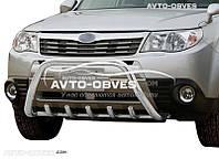 Кенгурятник для Subaru Forester 2008-2012 (AISI304, облегчённый)