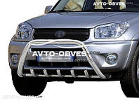Кенгурятник для Toyota Rav4 2000-2005 (AISI304, облегчённый)