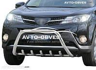 Кенгурятник для Toyota Rav4 2013-2016 (AISI304, облегчённый)