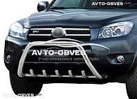 Кенгурятник для Toyota Rav4 2006-2010 (AISI304, облегчённый)
