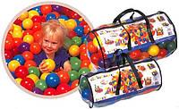Фан болс Intex Fun Ballz 49600 ,100 пластмассовых шариков в прозрачной сумке