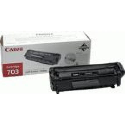 Картридж Canon 703 Black (7616A005/76160005), фото 2