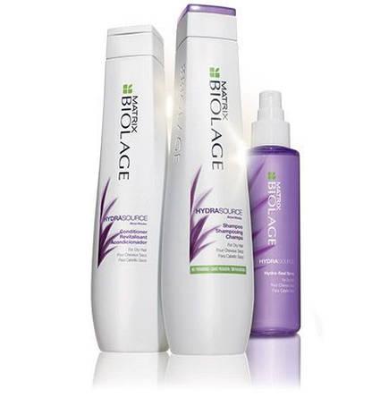 Линия Biolage Hydrasource - терапия для сухих волос