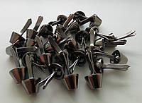 Ножка для тяжелых сумок 14 мм черный никель, фото 1