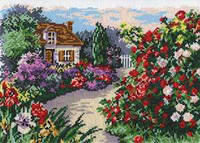 """Набор для вышивки нитками """"Чветущий сад"""""""