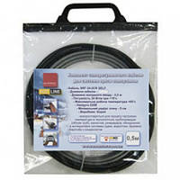 Секція 0,5м 12Вт сам.рег.кабель з вилкою змуфтований з холодним вводом 2,5м