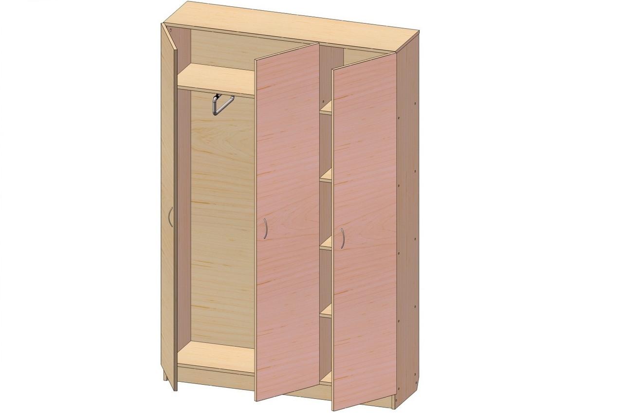 Шкаф для одежды К-134 (900*320*1860h)