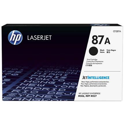 Картридж HP LJ  87A Black (CF287A), фото 2
