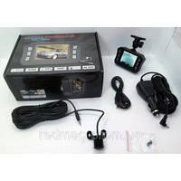 Видеорегистратор с навигатором DVR H900 2 камеры + GPS