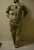 """Жіночий військовий костюм Грета """"стекло"""" Піксель ЗСУ"""