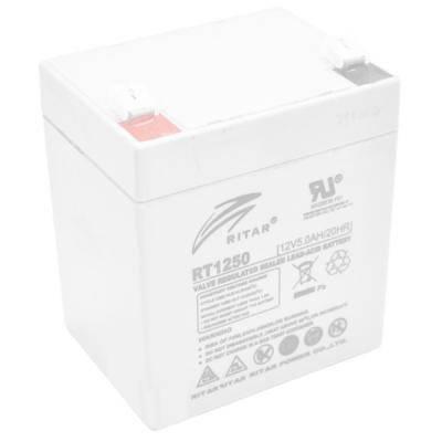 Батарея к ИБП Ritar AGM RT1245, 12V-5Ah (RT1250), фото 2