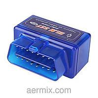 Адаптер для диагностики авто OBD2 ELM327 mini BT, диагностический автосканер Elm 327 Bluetooth Mini v2.1