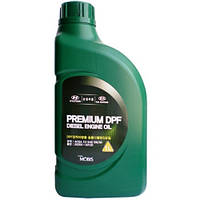 Моторное масло Mobis Hyundai/KIA Premium DPF Diesel 5W-30 1 л (05200-00120)
