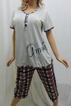 Пижама больших размеров с бриджами, от 50 до 56р-р, Харьков, фото 3