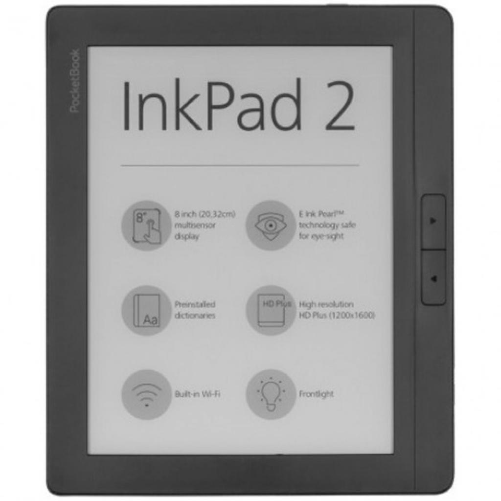 Электронная книга PocketBook 840 InkPad 2, Mist Grey (PB840-2-M-CIS)