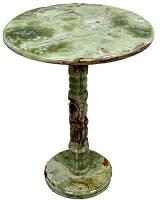 Стол, оникс, Н60 см, D30 см, Изделия из оникса, Днепропетровск