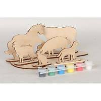 Набор для творчества «Сборная деревянная модель «Домашние животные»70965 Вудмастер