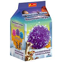Набор для опытов 0276 «Волшебные кристаллы. Ледниковый период. Фиолетовый» 12177008Р Ranok Creative