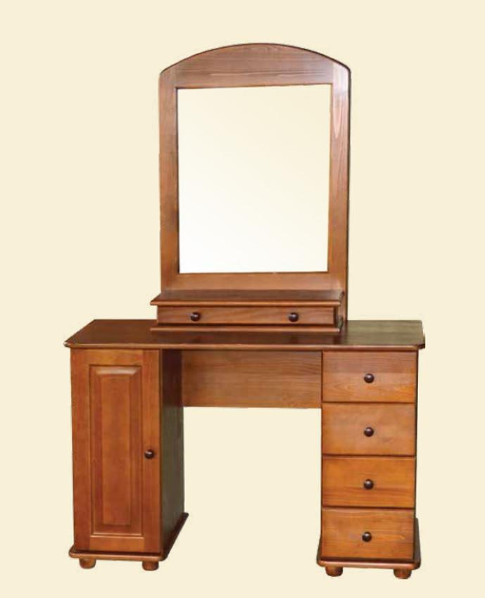 """Деревянная мебель для спальни. Функциональное трюмо от мебельной фабрики""""Скиф"""", модель Т-11"""