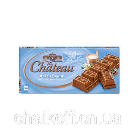Молочный шоколад  Chateau Alpen Sahne 200 г
