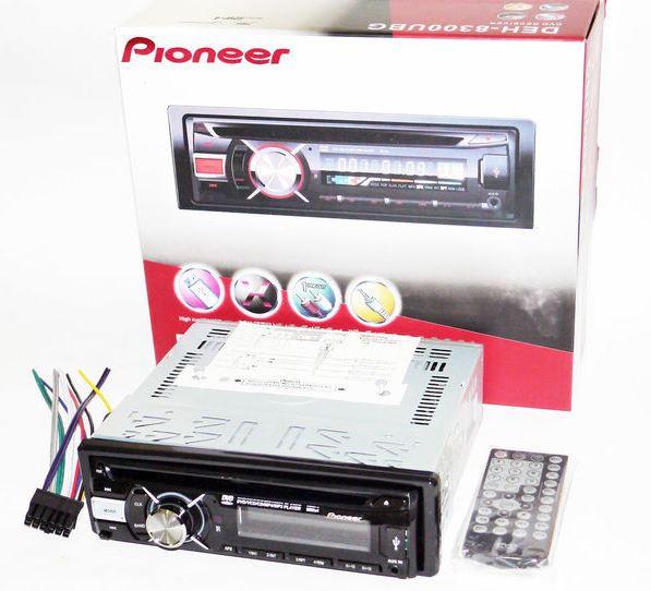 Автомагнитола DEH-8300UBG DVD USB Sd MMC съемная панель