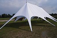 """Большой шатер """"Звезда"""", 3x опорная 19,5x10м. На 70 человек, фото 1"""