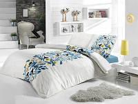 Семейное трикотажное постельное бельё с простыней на резинке ACELYA Happy Birds