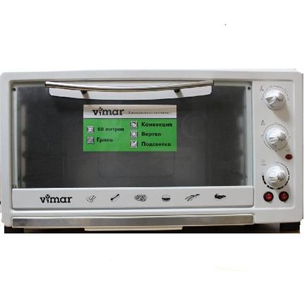 Мини-духовка VIMAR VEO-6811W (конвек.,верт.,подсв), фото 2