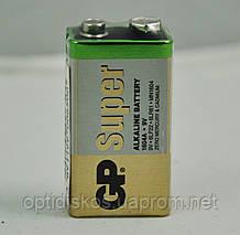 Батарейка GP Alkaline 6LF22 S1 крона, плівка