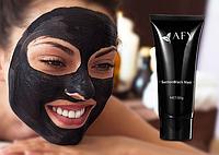 Маска пленка от черных точек и сужающая поры AFY Black Mask, черная маска для лица