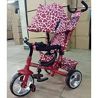 Трехколесный велосипед TILLY ZOO-TRIKE T-342 DARK RED