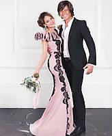 Эксклюзивное платье с дорогим ажуром